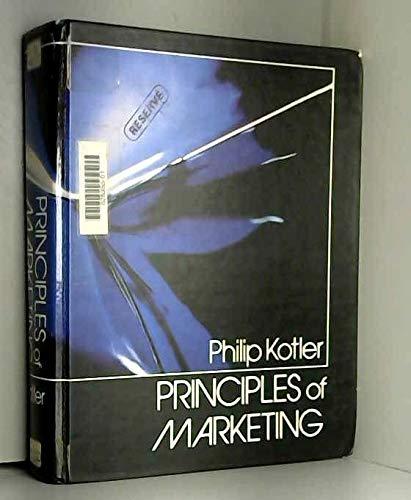 9780137015573: Principles of Marketing