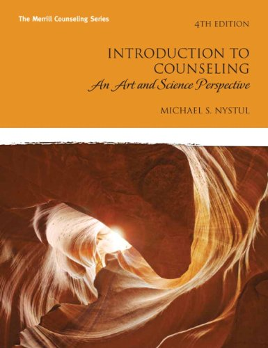9780137016105: Introduction to Counseling: An Art and Science Perspective