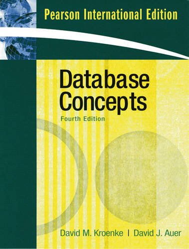 9780137016167: Database Concepts