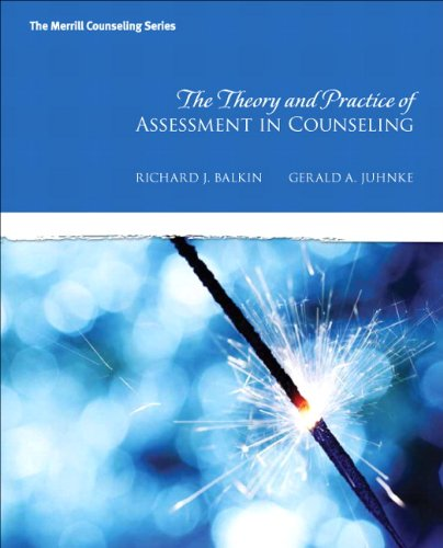 9780137017515: The Theory and Practice of Assessment in Counseling (Merrill Counseling)