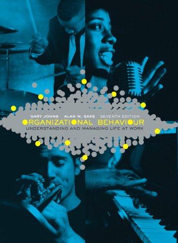 9780137017775: Organizational Behaviour: Understanding and Managing Life at Work