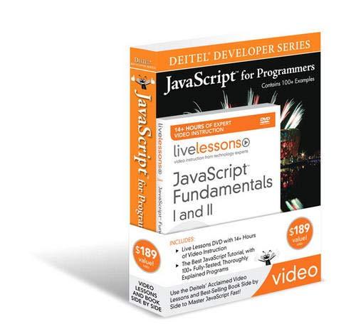 9780137018253: Javascript Fundamentals I and II LiveLessons Bundle (Deitel Developer)
