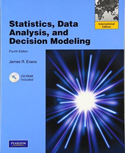 9780137019038: Statistics, Data Analysis and Decision Modeling: International Version