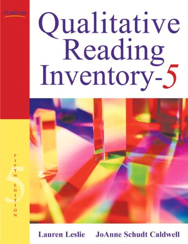 9780137019236: Qualitative Reading Inventory
