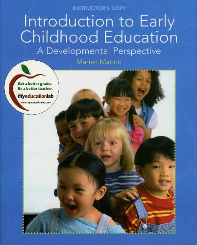 9780137019878: Introduction to Early Childhood Education: A Developmental perspective (Instructor's Copy)