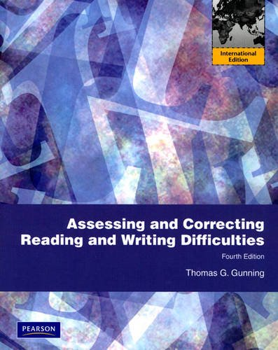 9780137023066: Assessing and Correcting Reading and Writing Difficulties: International Edition