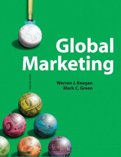 9780137023868: Global Marketing, 6th Edition