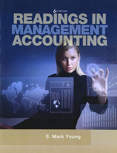 9780137025039: Readings in Management Accounting (6th Edition)