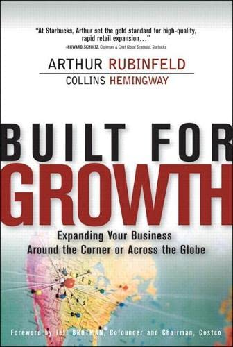 9780137025701: Built for Growth: Expanding Your Business Around the Corner or Across the Globe (paperback)
