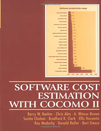 9780137025763: Software Cost Estimation with COCOMO II