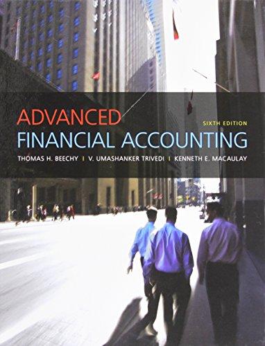 9780137030385: Advanced Financial Accounting (6th Edition)