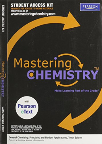 9780137032105: Mastering Chemistry- Access Code