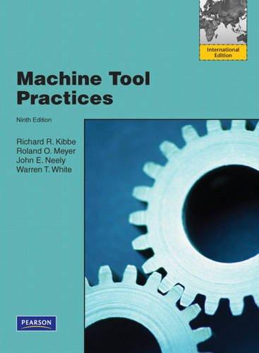 9780137032853: Machine Tool Practices:International Edition