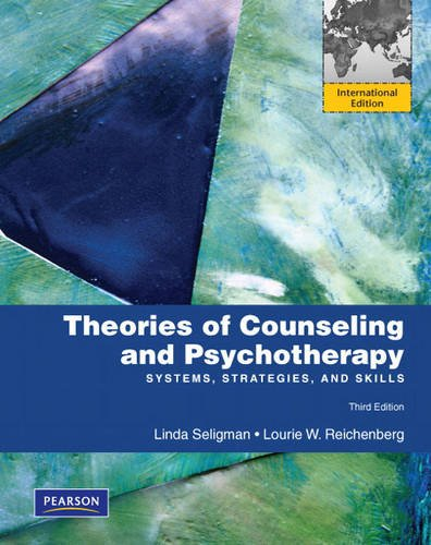 9780137033065: Theories of Counseling and Psychotherapy: Systems, Strategies, and Skills: International Edition