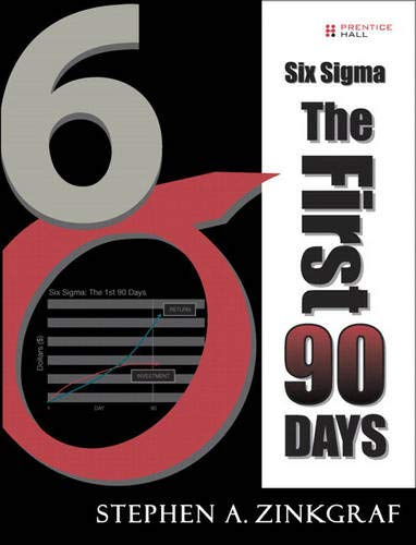 9780137033591: Six Sigma--The First 90 Days (paperback)