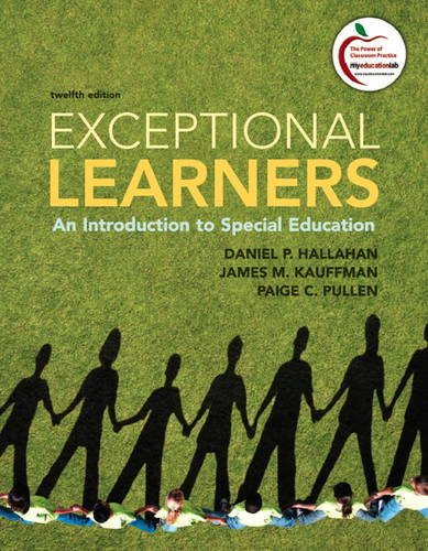 9780137033706: Exceptional Learners: An Introduction to Special Education (12th Edition)