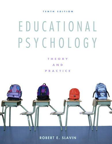 9780137034352: Educational Psychology: Theory and Practice (10th Edition)