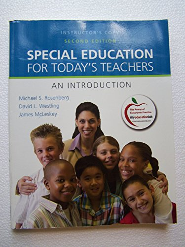 9780137034444: Special Education for Today's Teachers: NEW instructor Copy;