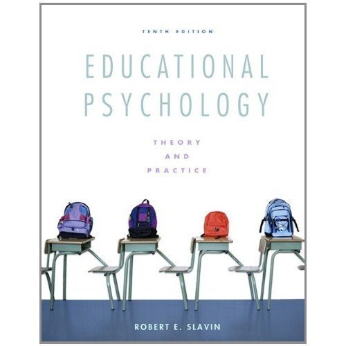 9780137034765: Educational Psychology Theory and Practice