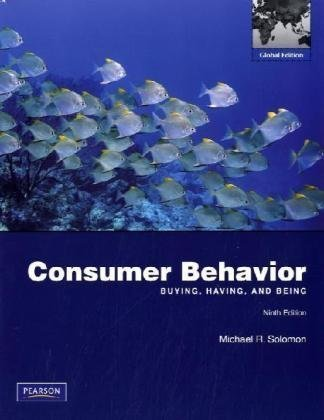 9780137034963: Consumer Behavior: Buying, Having, And Being