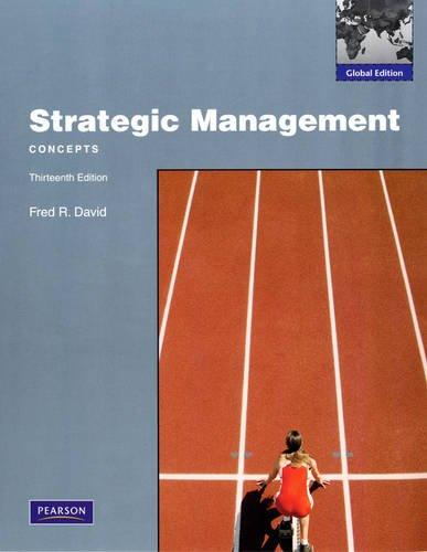 9780137034987: Strategic Management: Concepts