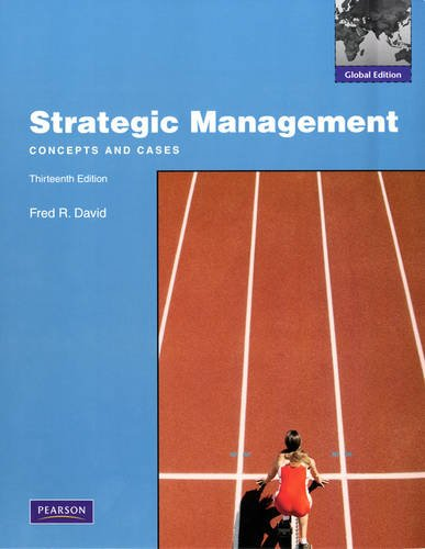 9780137034994: Strategic Management