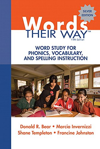 9780137035106: Words Their Way: Word Study for Phonics, Vocabulary, and Spelling Instruction (5th Edition) (Words Their Way Series)