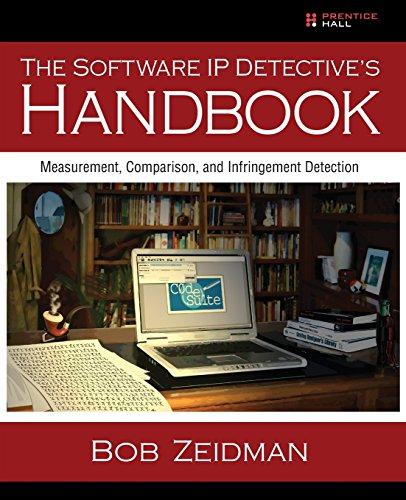 9780137035335: The Software IP Detective's Handbook: Measurement, Comparison, and Infringement Detection