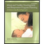 9780137036851: Infant and Toddler Development and Responsive Program Planning