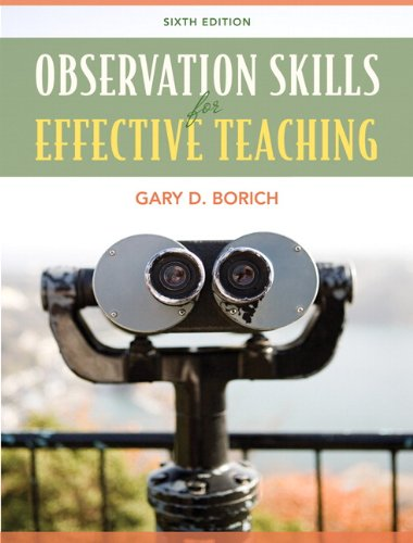 9780137039722: Observation Skills for Effective Teaching