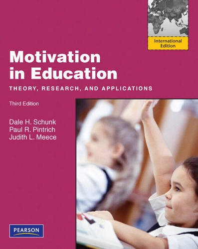 9780137041374: Motivation in Education: Theory, Research, and Applications: International Edition