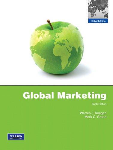 9780137042685: Global Marketing : Global Edition, Edition 6