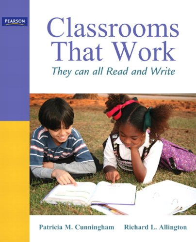 9780137048373: Classrooms That Work: They Can All Read and Write