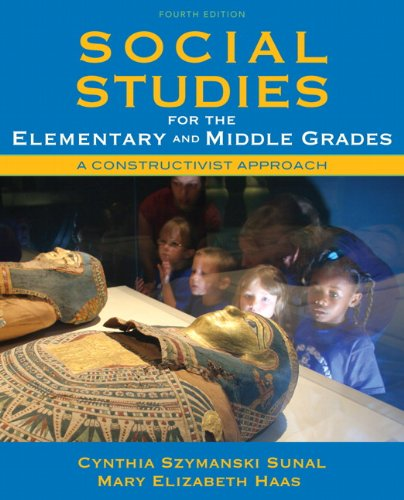 9780137048854: Social Studies for the Elementary and Middle Grades: A Constructivist Approach (4th Edition)