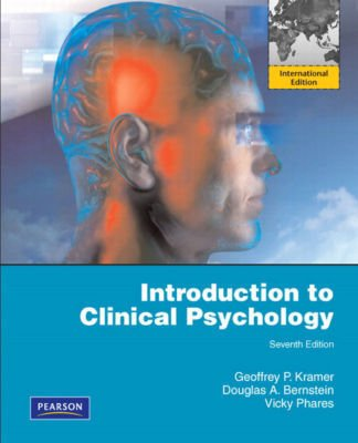 9780137049844: Introduction to Clinical Psychology: International Edition