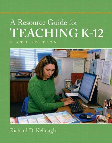 9780137050178: A Resource Guide for Teaching K-12 (6th Edition)