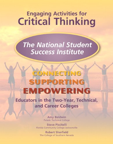 9780137050246: NSSI Engaging Activities for Critical Thinking