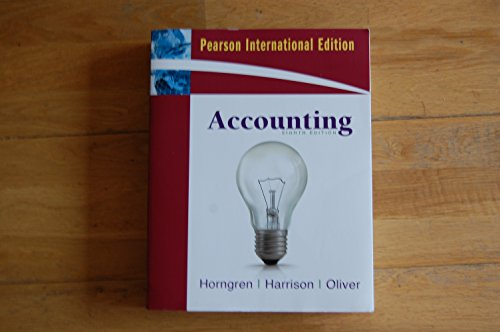 9780137050383: Accounting, Chapters 1-23, Complete Book