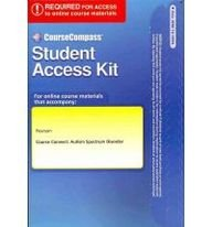 9780137051120: CourseCompass Access Code Card for Course Connect: Autism Spectrum Disorder