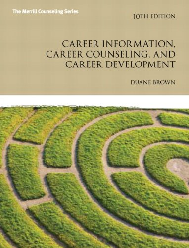 9780137051946: Career Information, Career Counseling, and Career Development (Merrill Counseling)