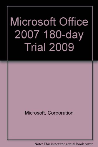 9780137052486: Microsoft Office 2007 180-day trial 2009 (6th Edition)