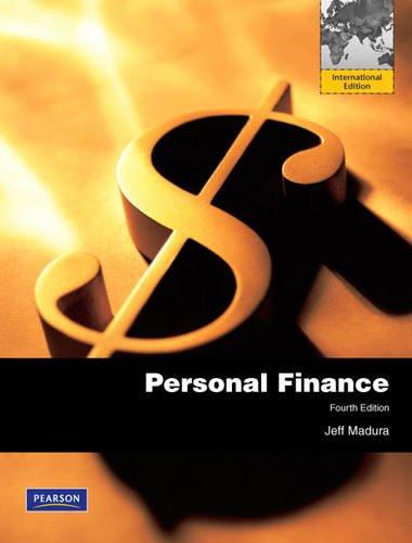 9780137052578: Personal Finance: International Edition