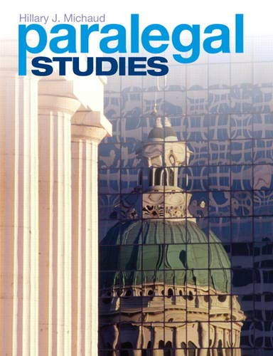 9780137052684: Paralegal Studies