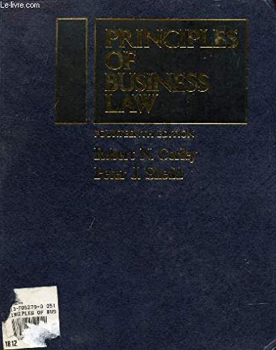 9780137052790: Principles of Business Law