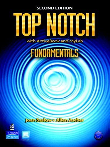 9780137053230: MyEnglishLab: Top Notch Fundamentals (Student Access Code)