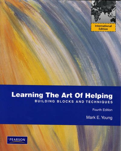 9780137054084: Learning the Art of Helping: Building Blocks and Techniques