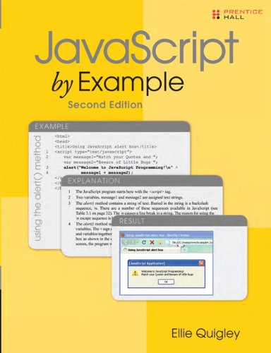 9780137054893: JavaScript by Example (2nd Edition)