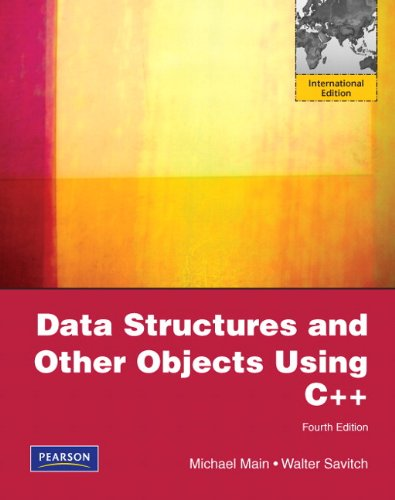 9780137055333: Data Structures and Other Objects Using C++: International Version