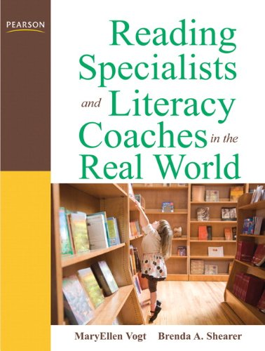 9780137055395: Reading Specialists and Literacy Coaches in the Real World (3rd Edition)