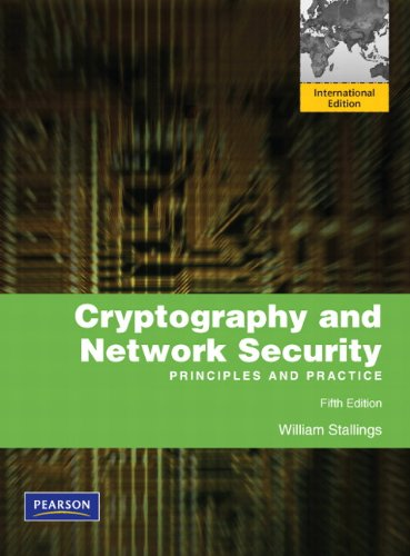9780137056323: Cryptography and Network Security: International Version: Principles and Practice